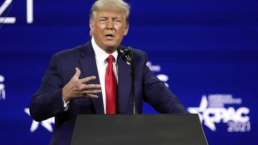 Ex-Präsident Trump schliesst Kandidatur 2024 nicht aus
