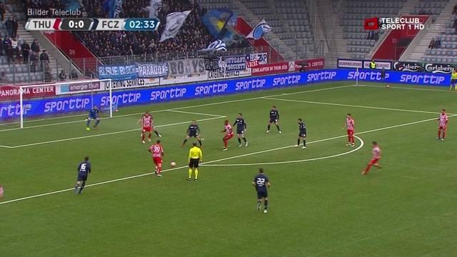 FC Thun demontiert FC Zürich