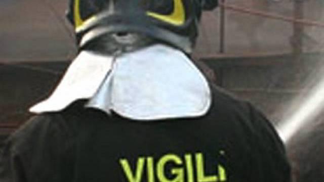 Italienischer Feuerwehrmann (Archiv)