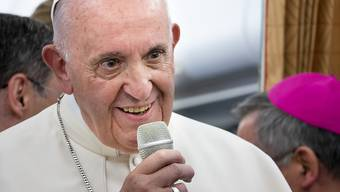 Versichert die Opfer seiner Solidarität: Papst Franziskus. (Archiv)