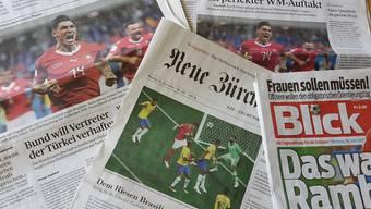 Die Schweizer Zeitungen schrieben von einem gelungenen Auftaktspiel gegen Brasilien