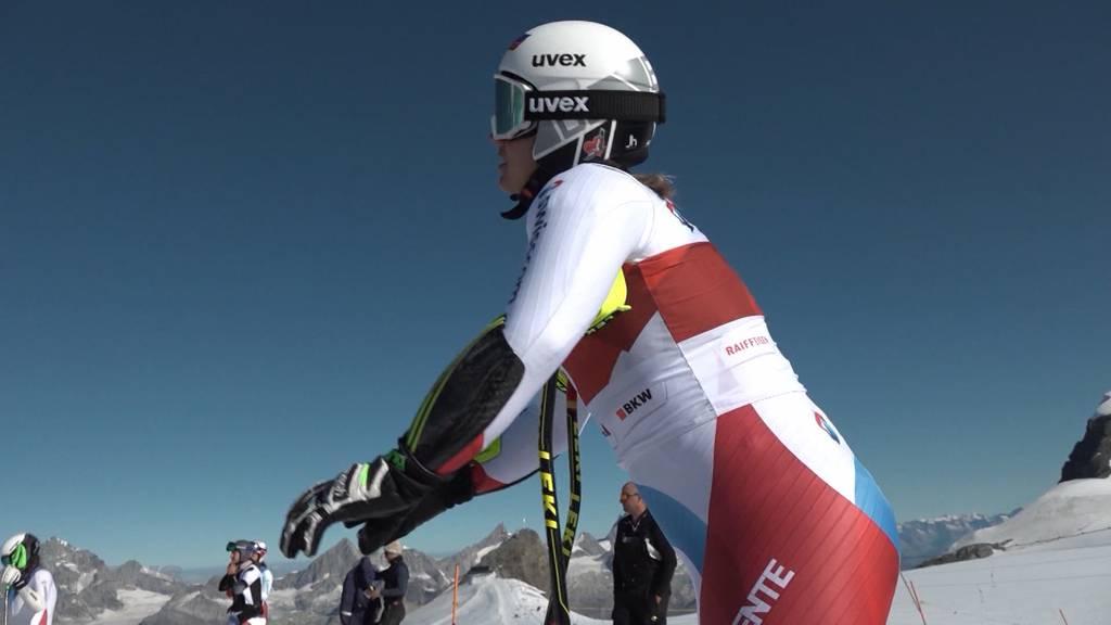Training auf dem Gletscher: Saisonvorschau der Speedfahrerinnen