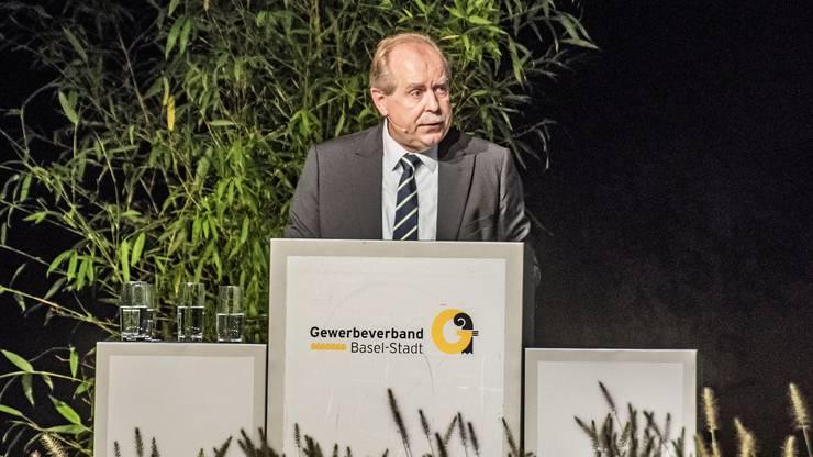 Gewerbepräsident Marcel Schweizer hat Ansprüche an die bürgerlichen Parteien.