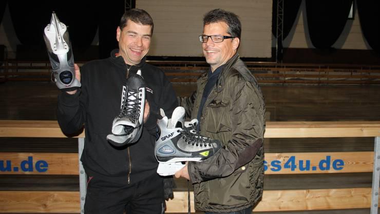 Markus Wälti und Harri Kunz freuen sich auf So-Cool Nummer 3.
