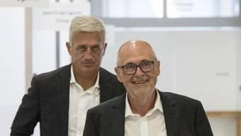 SFV-Präsident und Nationaltrainer: «Vladimir war mein bester Entscheid», sagt Peter Gilliéron (vorne).