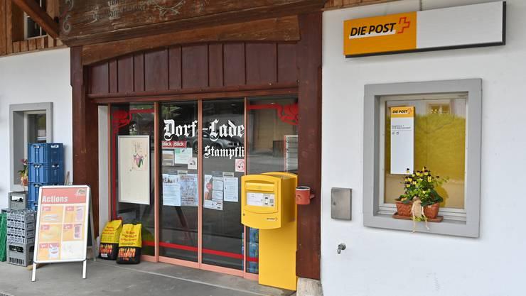 Dorfladen Postagentur Aedermannsdorf: Sie schliesst per 1. Januar.