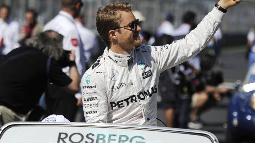 Nico Rosberg siegte zum vierten Mal in Folge
