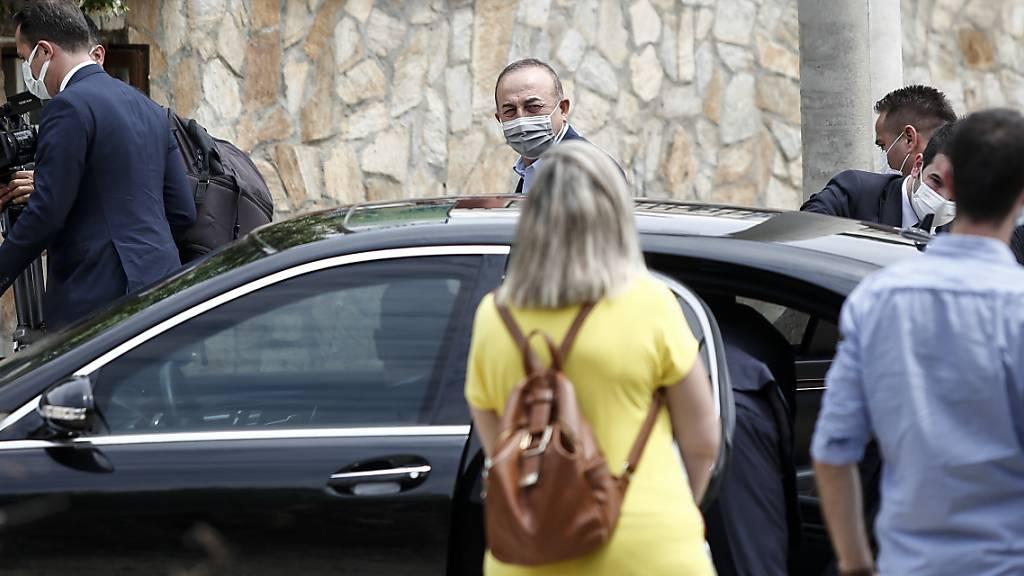 Türkischer Aussenminister Cavusoglu in Griechenland