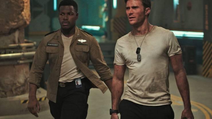 """Der Science-Fiction-Film """"Pacific Rim Uprising"""" hat am Wochenende vom 22. bis 25. März 2018 in Nordamerika die Spitze der Kinocharts übernommen. (Archiv)"""