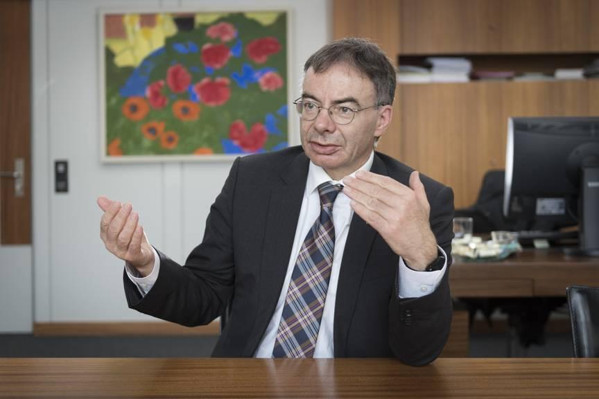 HSG-Rektor Thomas Bieger © Urs Bucher/TAGBLATT