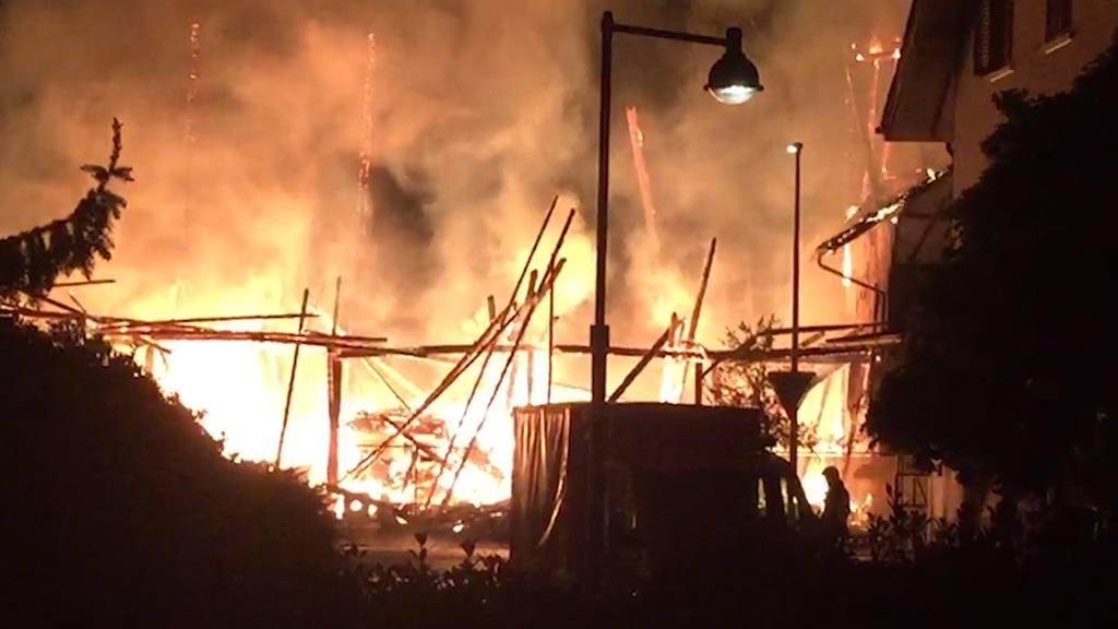 Leerstehendes Bauernhaus in Gerlafingen abgebrannt