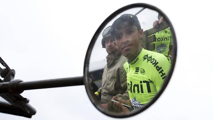 Trek-Leader Alberto Contador kann nicht auf die Dienste von André Cardoso zählen
