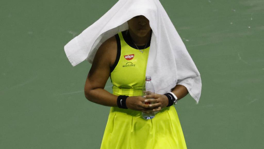 Naomi Osaka legt erneut eine Pause ein