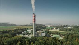 Entwickelt sich immer mehr zum Wärme- und Stromproduzenten: Die Kehrichtverbrennungsanlage (KVA) in Buchs.zvg