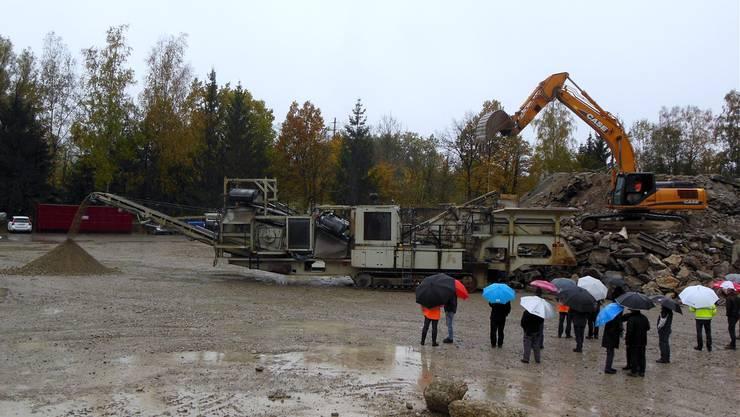 Flumenthal und Riedholz profitieren als Anstösser finanziell von der geplanten Deponie, die im letzten Herbst vorgestellt wurde.drb