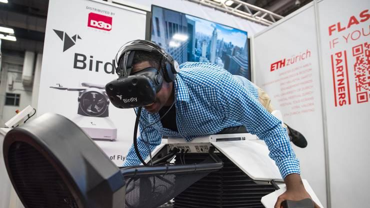 Ursprünglich war die Virtual-Reality-Anwendung ein Kunstprojekt an der Zürcher Hochschule der Künste.