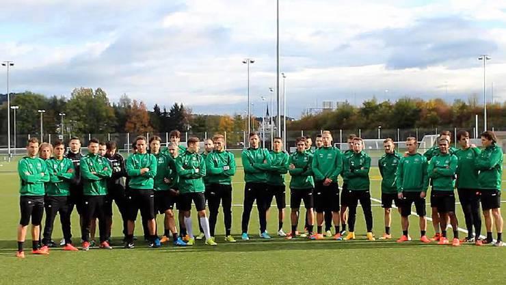 St. Gallen: Die Mannschaft setzt mit einem Video ein Zeichen gegen Chaoten.