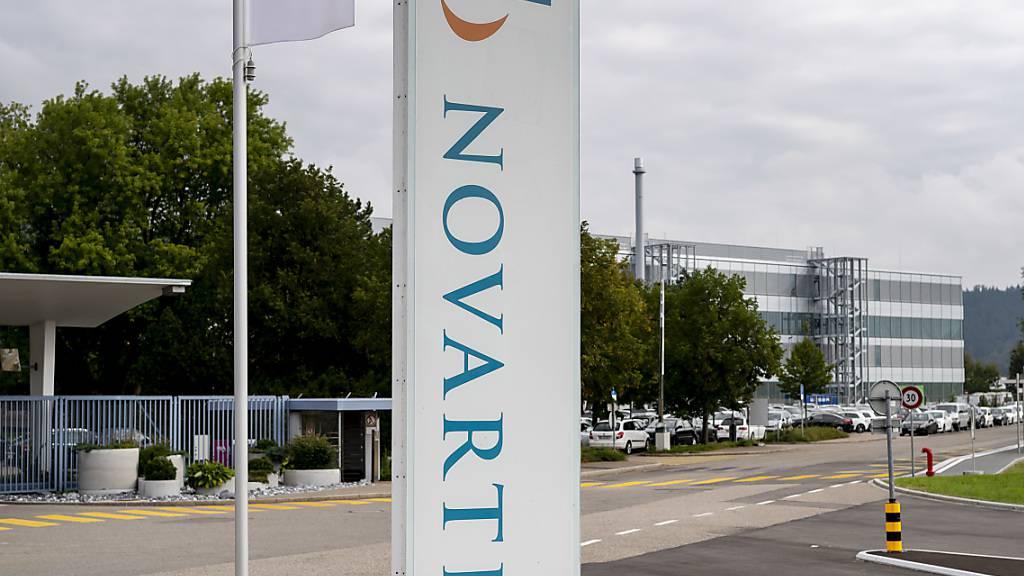 Enttäuschung für Novartis: Ein getestes Medikament erhöht die Überlebenschance bei Corona-Patienten nicht. (Archivbild)