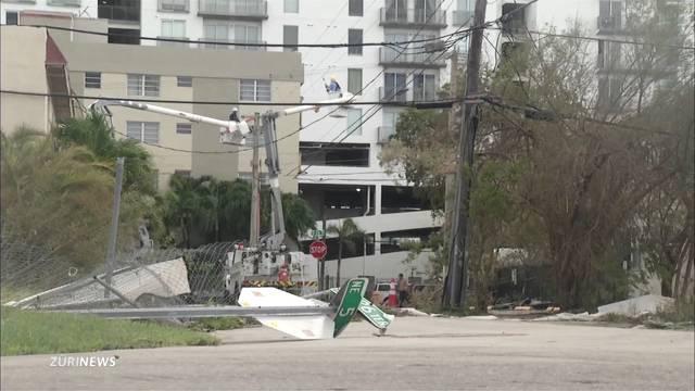 So viel Schaden richtete Irma an