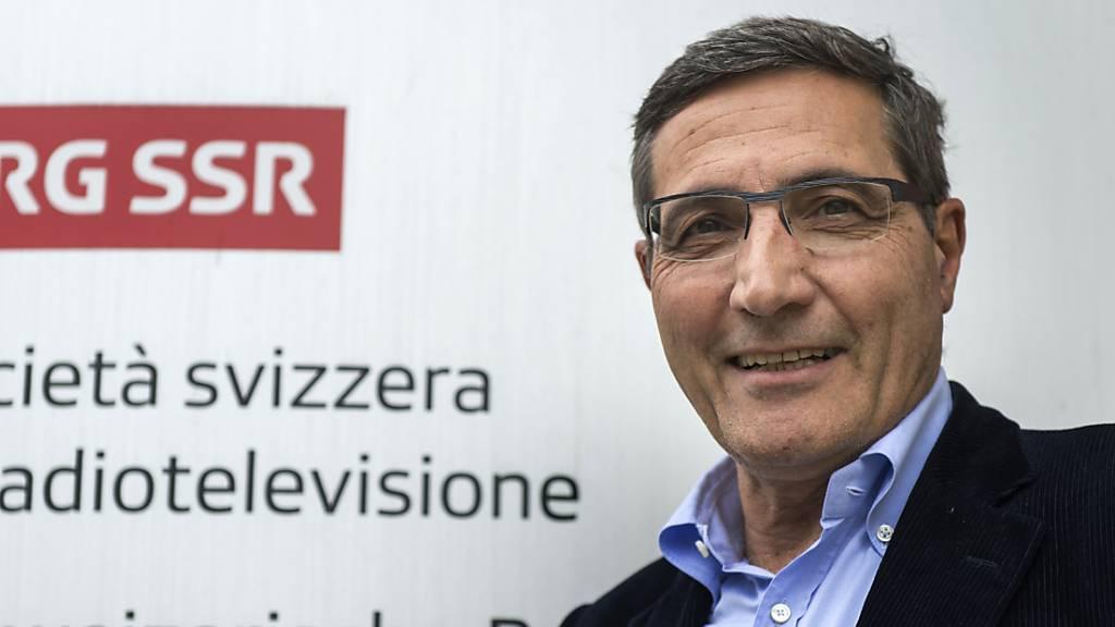 Nach 40 Jahren: RSI-Direktor Maurizio Canetta tritt zurück