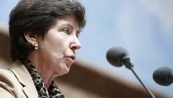 Kathy Riklin während einer Debatte im Nationalrat im Dezember 2014.