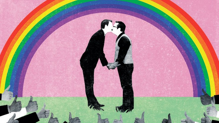 Wir sind offen gegenüber homosexuellen Paaren, die heiraten möchten. Wollen diese aber auch Kinder haben, ist oft Schluss. Doch lange können wir die wichtigen Fragen einer liberalen Gesellschaft nicht mehr abwehren.