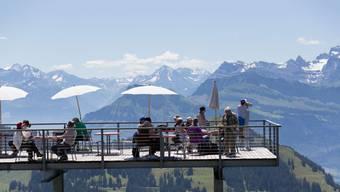 Tourismus-Attraktionen, wie hier auf der Rigi, will der Bundesrat frühstens ab dem 8. Juni öffnen.