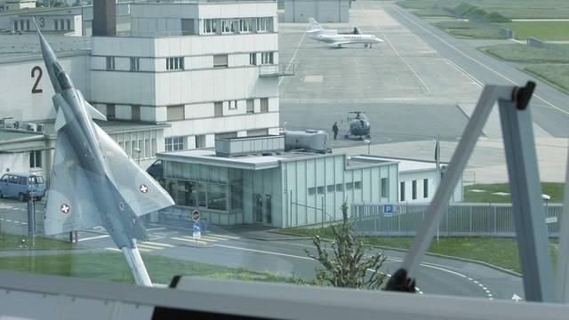 Blick auf den Militärflugplatz Payerne (Archiv)