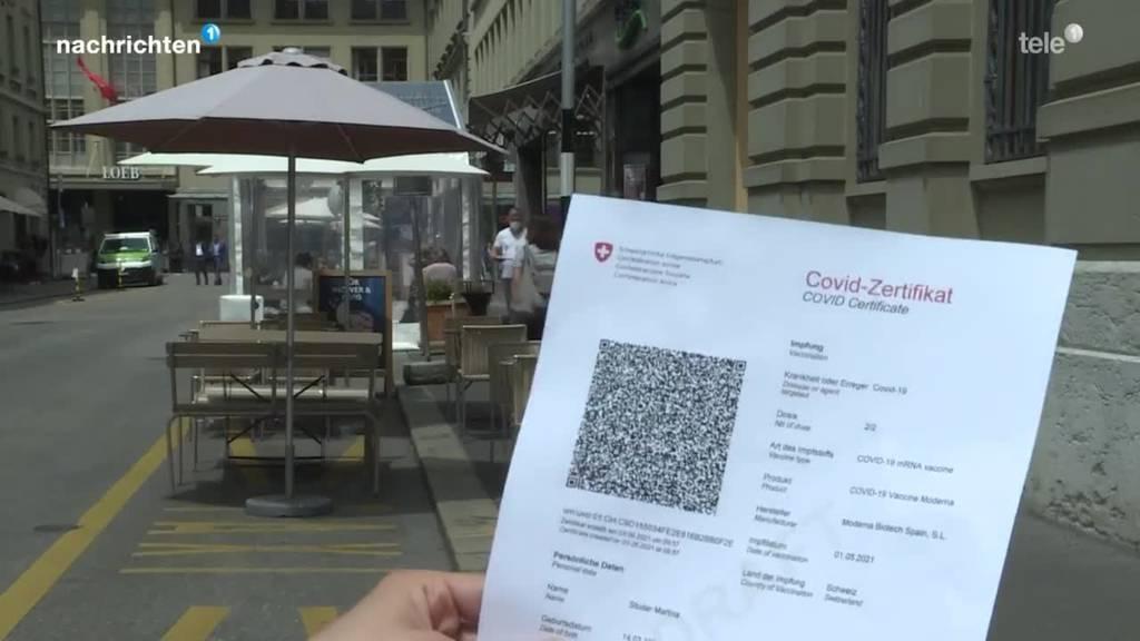 Covid-Zertifikat und dessen Anwendung