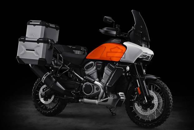 Verkaufsstart im Herbst: die Vorserienversion der neuen Reiseenduro Pan America von Harley-Davidson mit 145 PS.