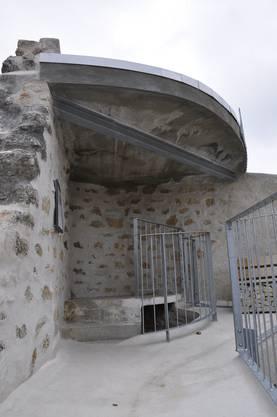 Die Aussichtsplattform wurde saniert.