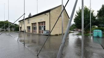 Ein neuer Gemeindesaal anstelle des Saals im Werkhofgebäude: Rickenbachs Souverän entscheidet.