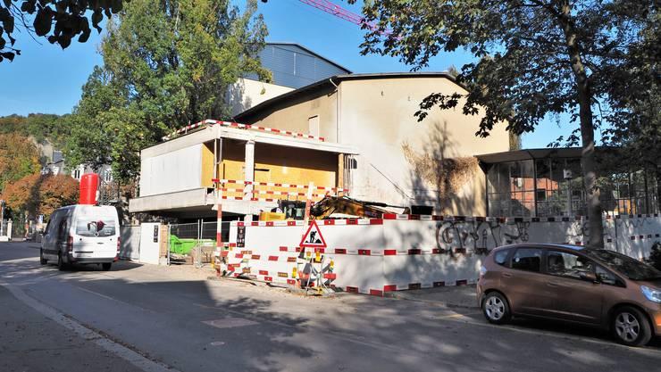 Das Kurtheater Baden befindet sich im Umbau.