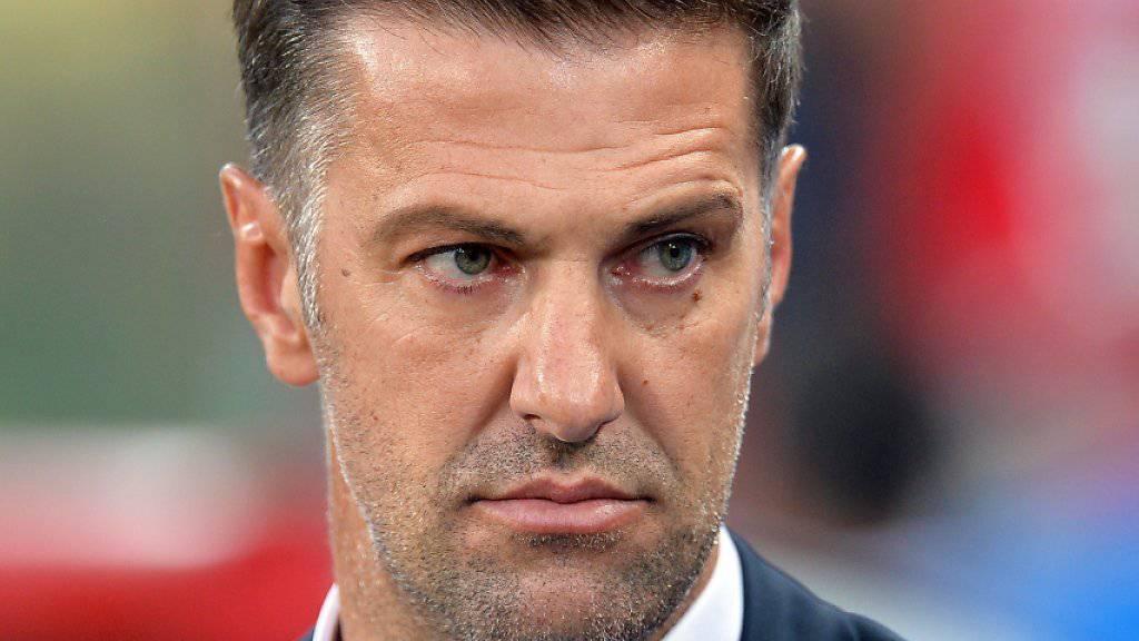 Mladen Krstajic ist nach schwachem Start in die EM-Qualifikation nicht mehr Serbiens Nationalcoach