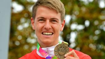 Matthias Kyburz: «Ich freue mich sehr, dass es nach der knapp verpassten Medaille im Sprint an der WM nun an den World Games geklappt hat.»