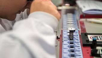 Im November stand die Uhren- und Präzisionsbranche speziell unter Druck.