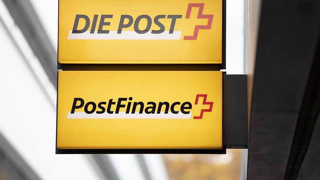 Postfinance erleidet bei Halbjahresgewinn Einbruch
