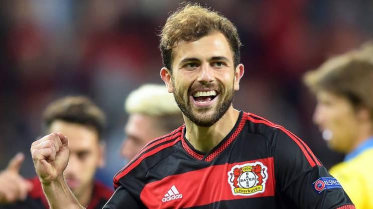 Admir Mehmedi trifft auch in dieser Saison für Leverkusen.