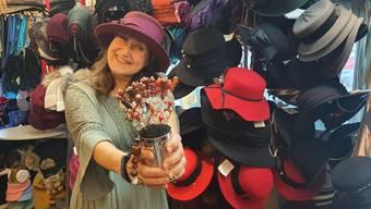 «Ich habe keinen Hut-Tick, nur einen Hut-Laden», sagt die Dornacher Hutdesignerin Svanette Belka.