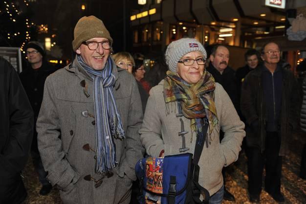 Gewerbeverbandspräsident Heinz Westreicher mit Ehefrau Susanne