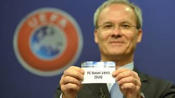 Gegen wen der FC Basel als nächstes auf dem Weg in die Champions League antreten muss, wird heute bekannt.