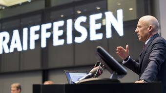 Patrik Gisel, Chef der Raiffeisen-Bankengruppe, verdiente 2017 1,81 Millionen Franken. (Archiv)