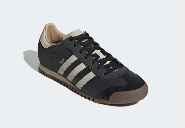 Ihn kennen alle: der klassische Adidas Rom in schwarz. Bei adidas.ch für 84 Franken.