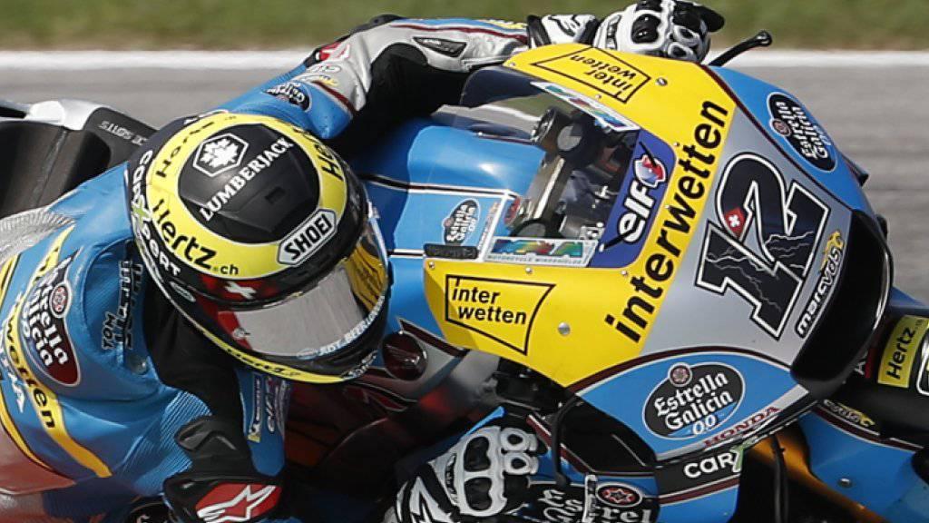 Rang 23 für Tom Lüthi im Qualifying zum Grand Prix von San Marino