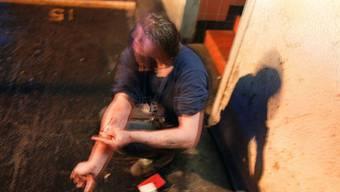 In der Laurenzenvorstadt in Aarau machen sich Drogensüchtige breit. Den Anwohnern geht dies ziemlich gegen den Strich.