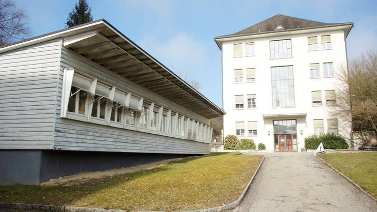 Das Verwaltungsgebäude auf dem Areal Attisholz Nord