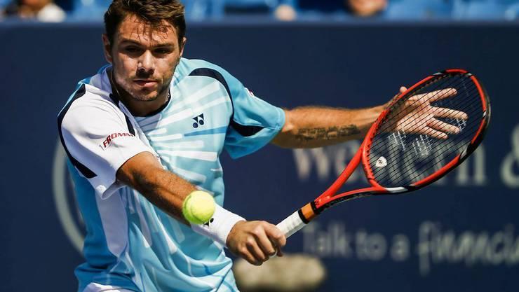 Stan Wawrinka glaubt, am US Open sein bestes Tennis zeigen zu können.