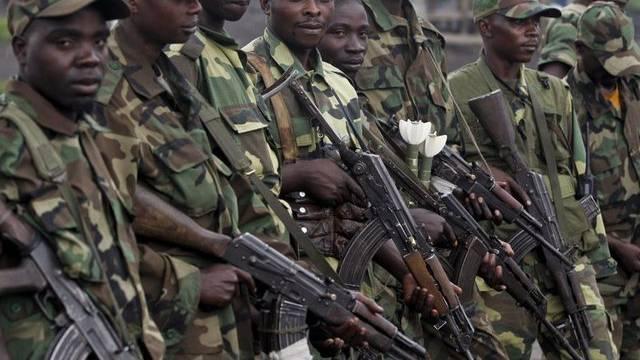 Soldaten der M23-Miliz (Archiv)