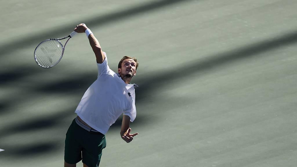 Medwedew lässt Opelka im Final keine Chance