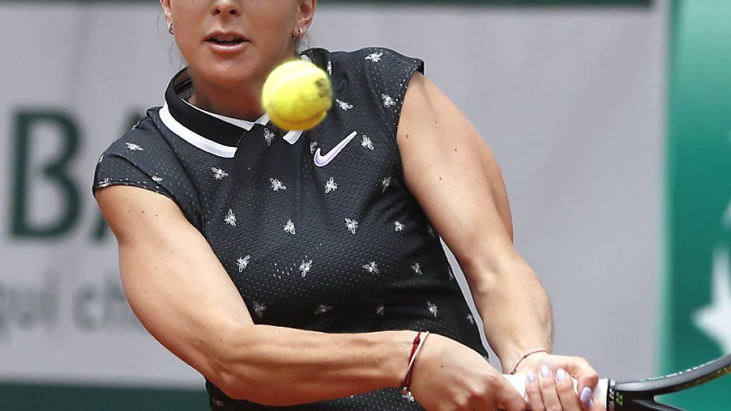 Belinda Bencic verpasste die Achtelfinals